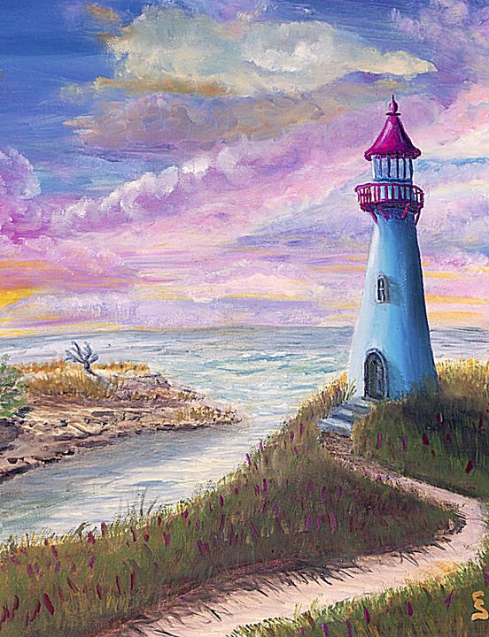 Lighthouse by Cynthia Sjoberg - Cynthia Sjoberg