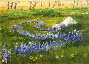Flower Spill by Cynthia Sjoberg