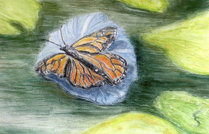 Monarch Landing - Cynthia Sjoberg