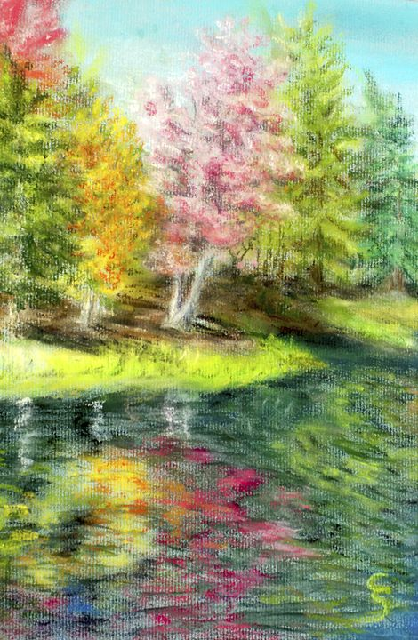 Fall on the River - Cynthia Sjoberg