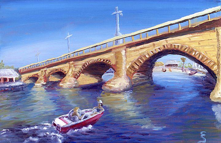 London Bridge Lake Havasu Arizona - Cynthia Sjoberg