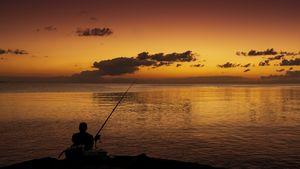Okinawa Fisherman