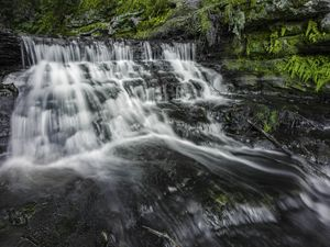 Chapel Falls, Lower