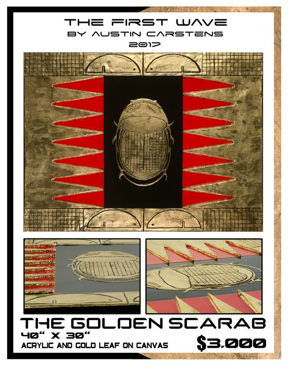 The Golden Scarab - Austin Carstens