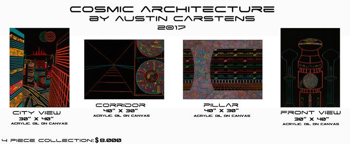 Cosmic Archtiecture Mini-Series - Austin Carstens