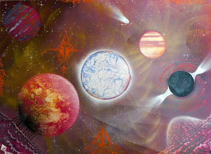 Star collapse - Chris Stuart Black
