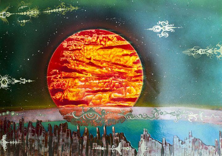 Dieing Sun - Chris Stuart Black