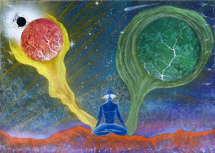Deep meditation - Chris Stuart Black