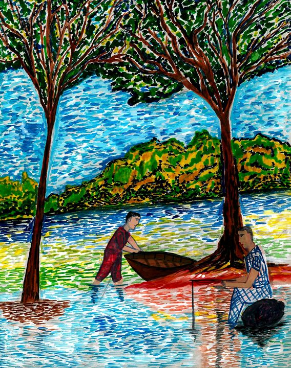 A Holiday Fishing - spurthi