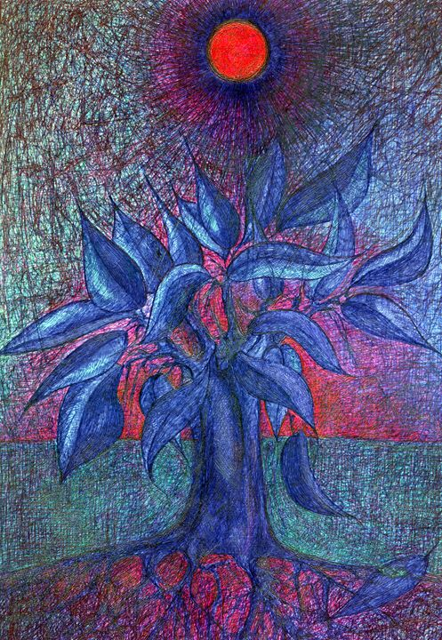 Trees Flower - Wojtek Kowalski