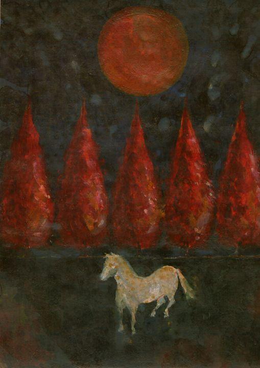 Pony And Moon - Wojtek Kowalski