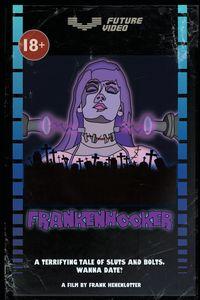 Frankenhooker VHS Custom Art print