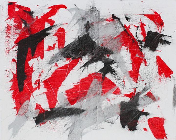 Red Dominance - Art by Tina Parish