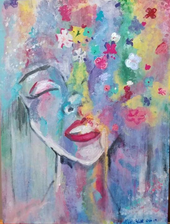 Flower Shower - Art by JSNK