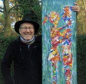 Karel Van Camp Modern Paintings