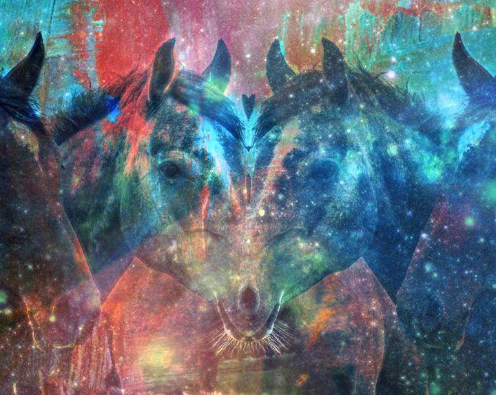 Animal Rorschach: Equine - Art by Jango Feldman