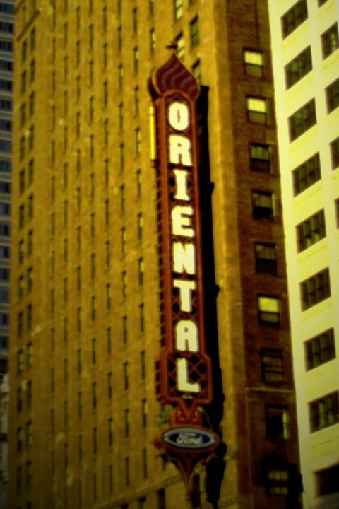 Oriental Theater - Jerry A. Puckett