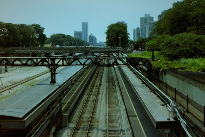 Down the tracks - Chicago - Jerry A. Puckett
