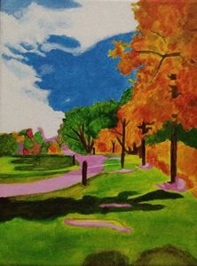 Littleton Garden Painting