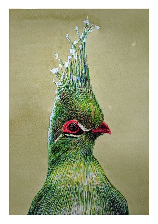 Green Bird - Boris Kuzenko