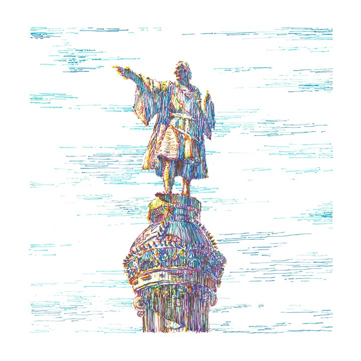 Columbus Monument - Boris Kuzenko