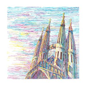 Sagrada Família - Boris Kuzenko