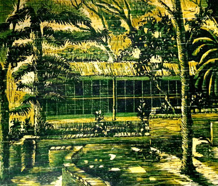 landscape,institute of finearts, - sumon's gallery