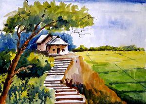 village scape,original work