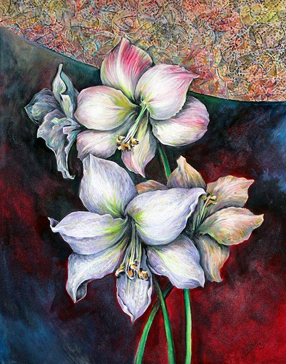 Flowers - Artist Mostafa Gebril