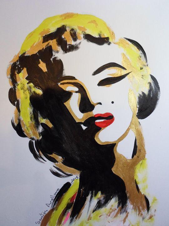 Marilyn Monroe : I'm selfish ! - Encanto Art Gallery
