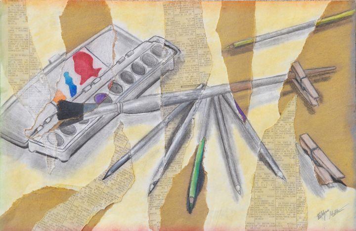 """""""Art Supplies"""" - Art by Brooklynn Matthews"""
