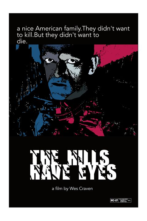The Hills Have Eyes poster art - Mickey MacKenna Artist