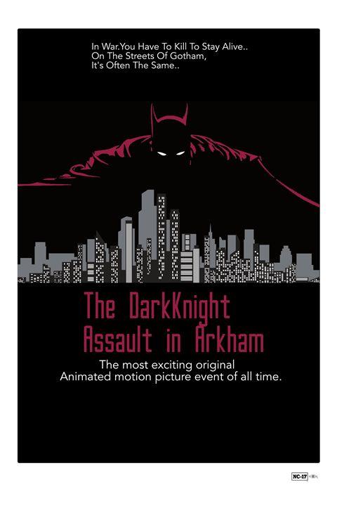 The DarkKnight Poster Art - Mickey MacKenna Artist