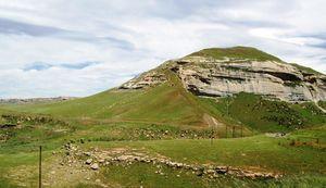 sandstone valley