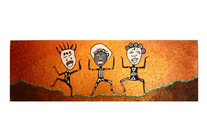three wise peeps - Mulumba