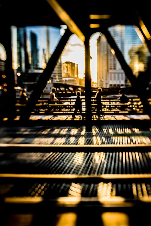 City Bridge scene at sunset - Sven Brogren Photography
