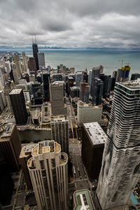 Chicago skyline from the 70th floor