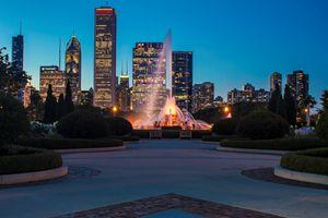 Chicago's Buckingham Fountain - Sven Brogren Photography