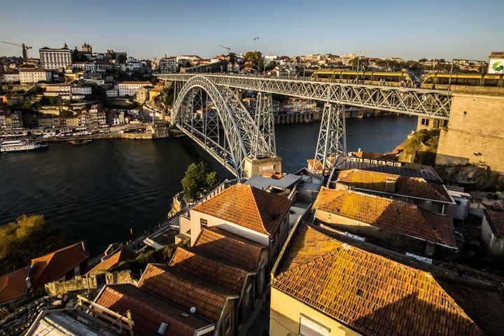 Dom Luis Bridge in Porto, Portugal - Sven Brogren Photography