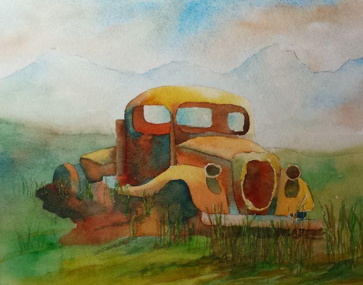 High Plains Drifter - Roxanne Morris