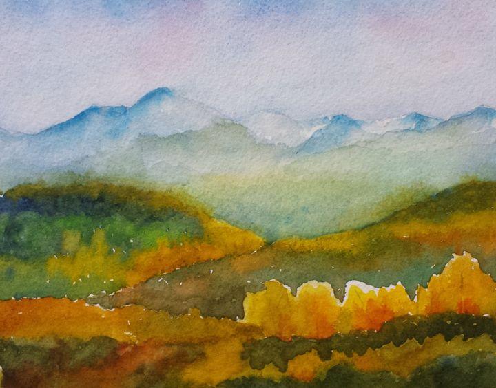 Glowing Fall - Roxanne Morris