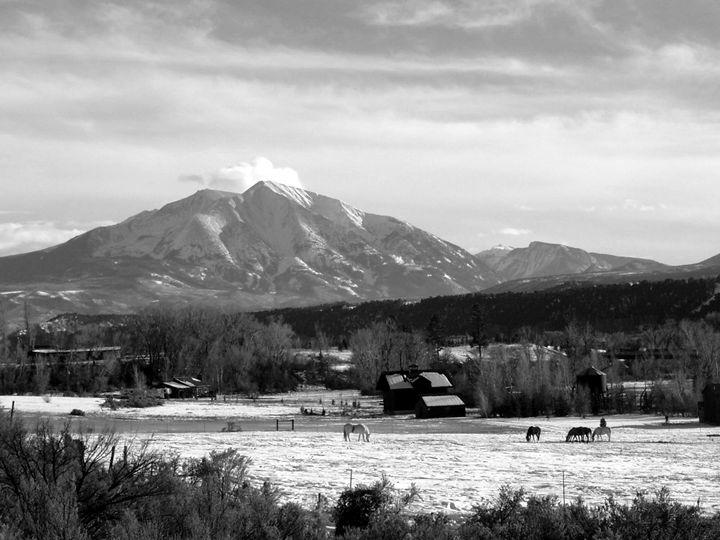 Mt Sopris Pastoral - Roxanne Morris