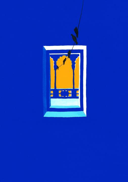 Door to a balcony in Alwar - Khyati Rajpara