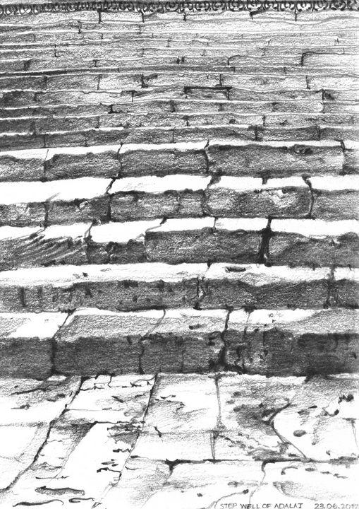 Step well of Adalaj- Steps - Khyati Rajpara