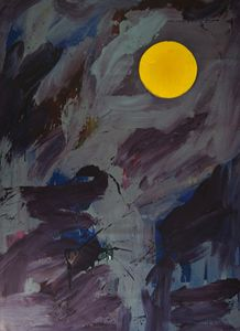 Moon Painting (Eva)