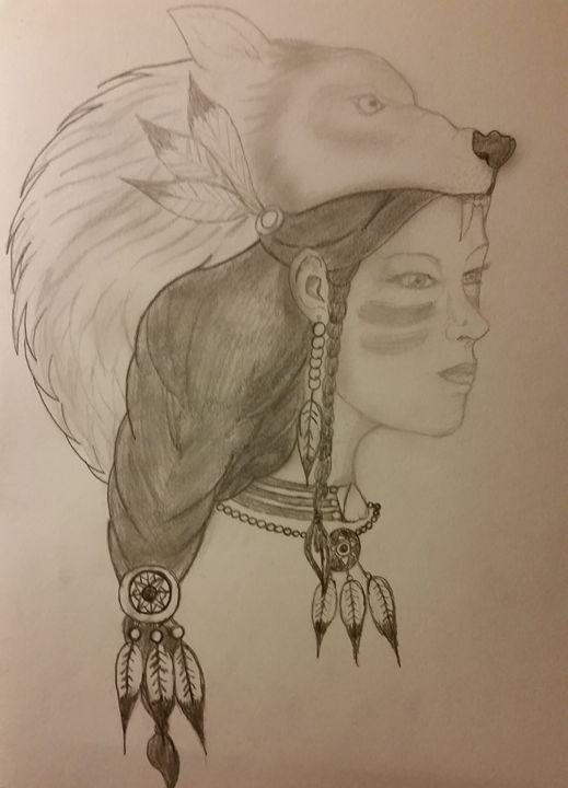 Native Wolf - ryansketches