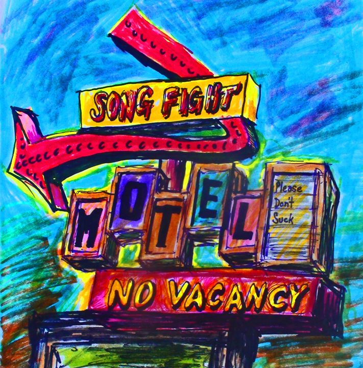 No Vacancy - Glen Art Rock