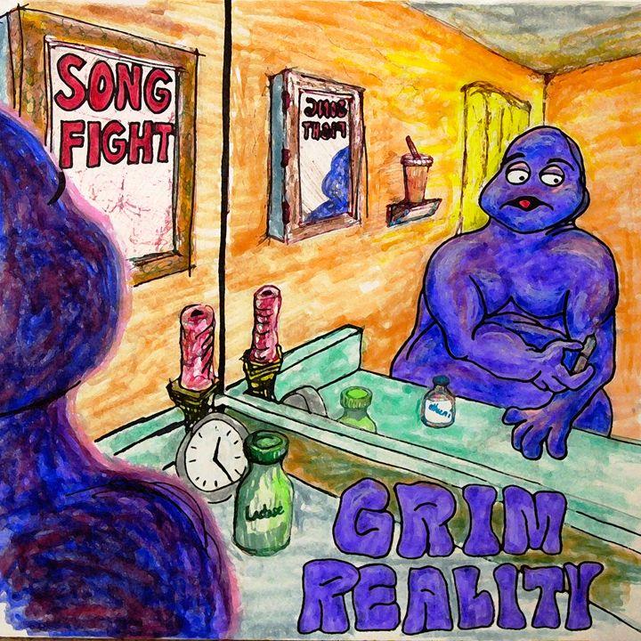 Grim Reality - Glen Art Rock