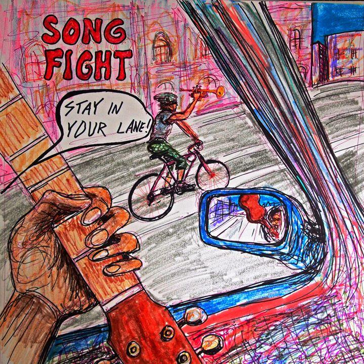 Stay In Your Lane - Glen Art Rock