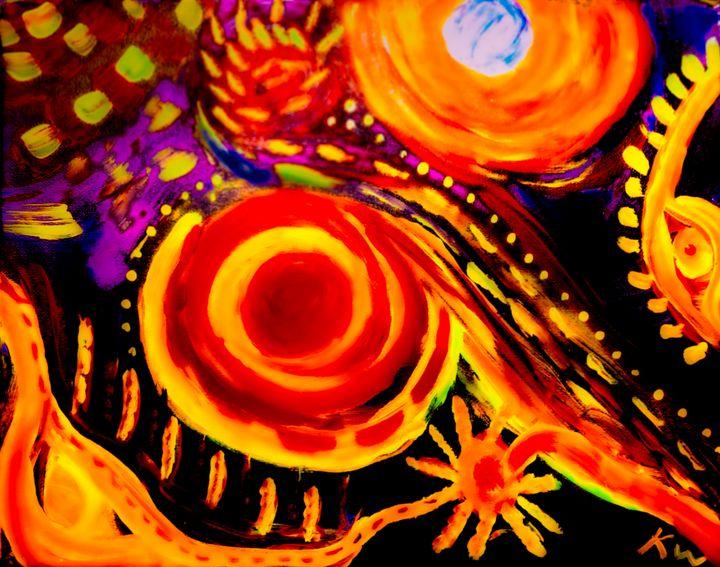 Abstract mind - Kristin Woodward